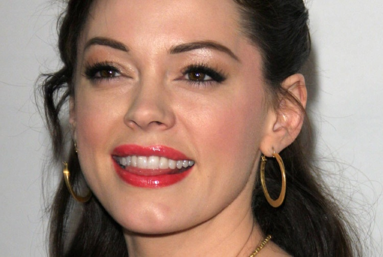 Rose McGowan shock: